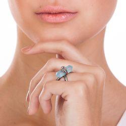 Anel-Knot-Agata-Azul-Modelo