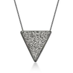 Colar-Triangle-Drusa
