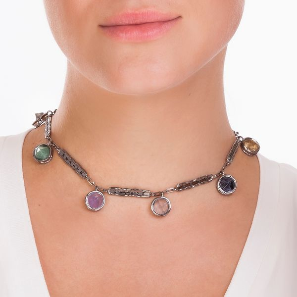 Colar-Balance--Agata-Azul-Cristal-Quartzo-Verde-Ametista-Quartzo-Rosa-Sodalita-e-Citrino