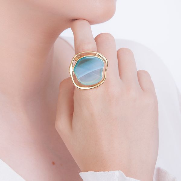 Anel-Soleil-Agata-Azul