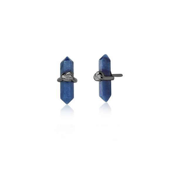 Brinco-Knot-Petit-Quartzo-Azul-Anil