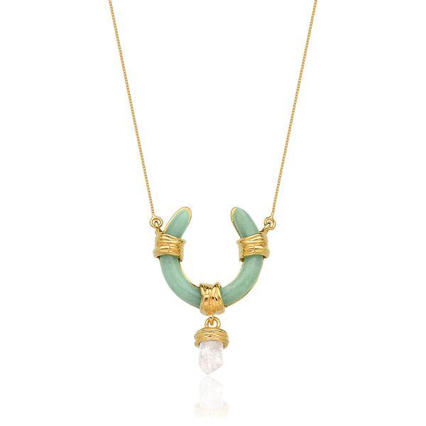 Colar-Vintage-Quartzo-Verde-e-Cristal-