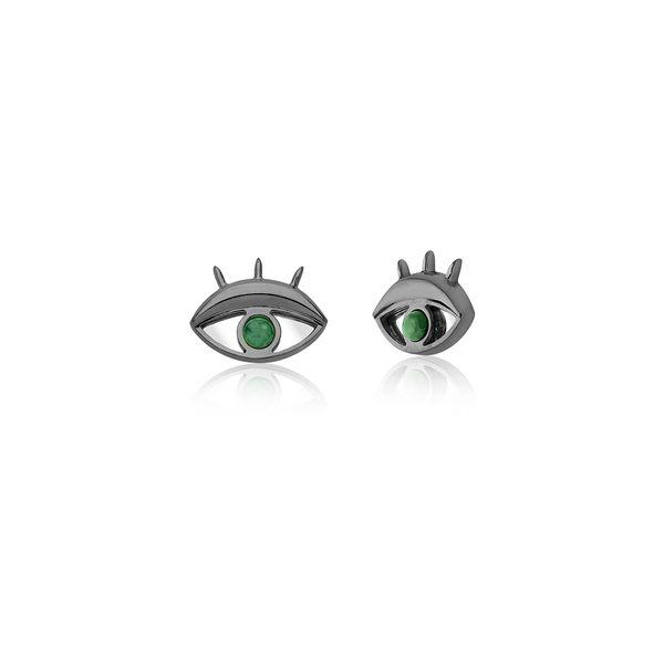 Brinco-Olhar-Pequeno-Esmeralda-e-Espelho