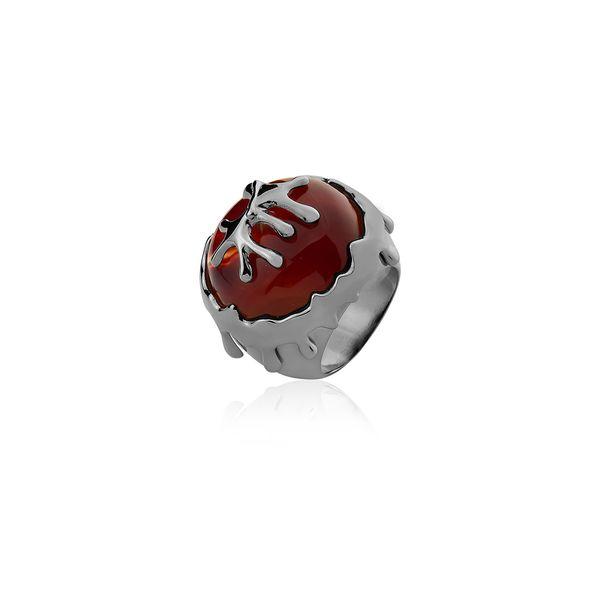 Anel-Calor-Agata-Vermelha