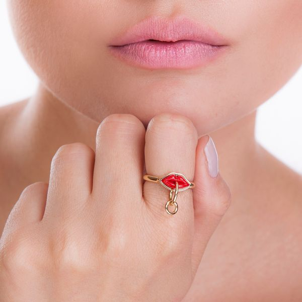 Anel-Small-Kiss-Vermelho