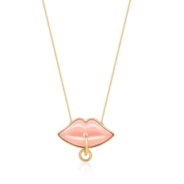 Colar-Small-Kiss-Rosa
