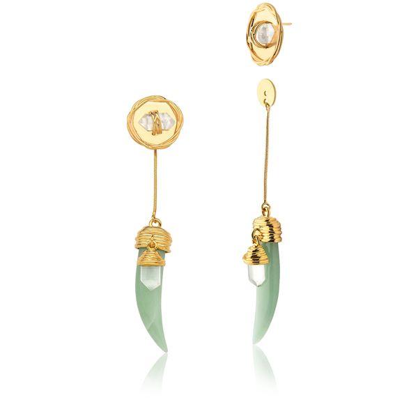 Brinco-Selvagem--Quartzo-Verde-e-Cristal