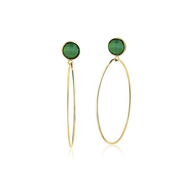 Brinco-Argola-Slim---Agata-Verde
