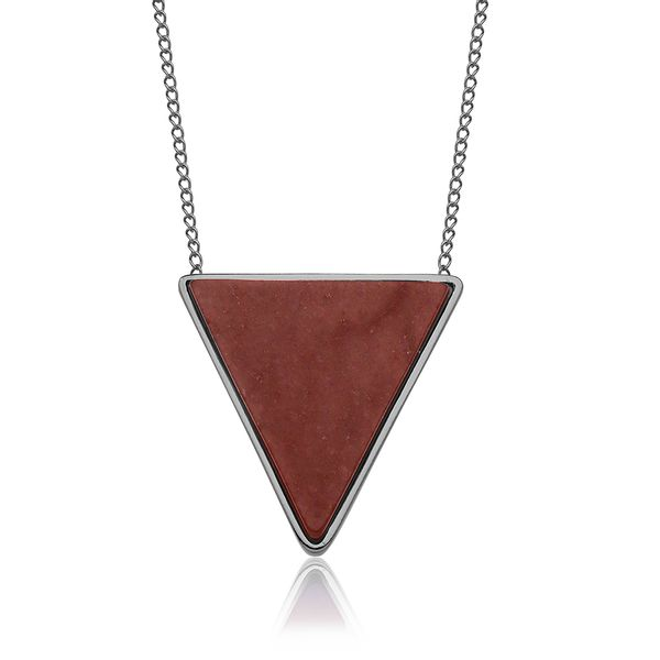 Colar-Triangle---Amazonita-Vermelha
