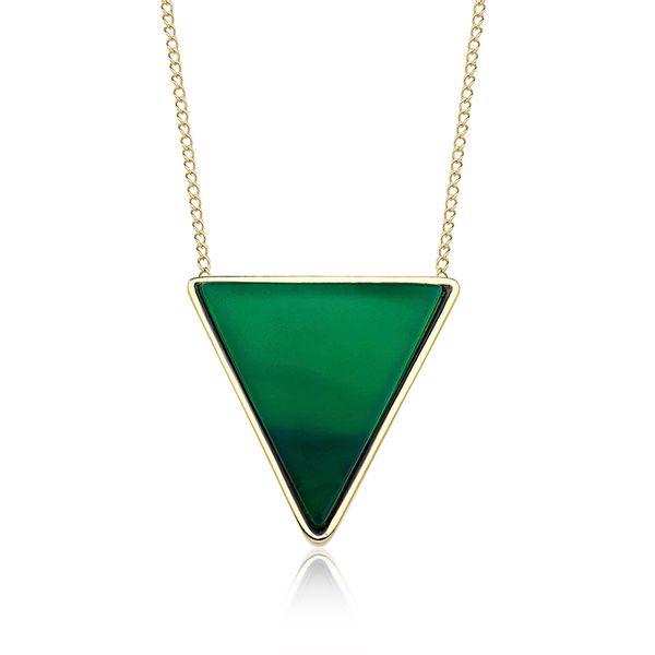Colar-Triangle---Agata-Verde