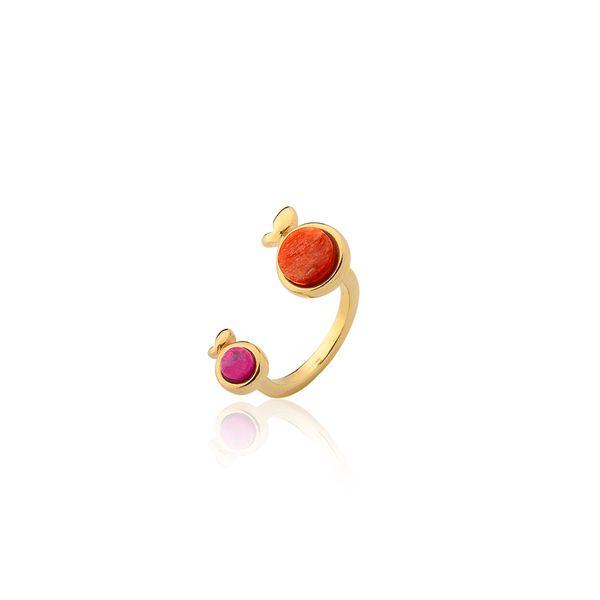 Anel-Tutti-Frutti---Amazonita-Rosa-e-Amazonita-Laranja---Lolinha-Tutti-Frutti-Banho-Folheado-a-Ouro-Tamanho-9