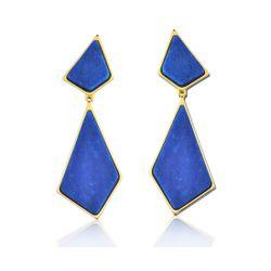 Brinco-Pieces---Quartzo-Azul-Anil-–-Colecao-Geometric