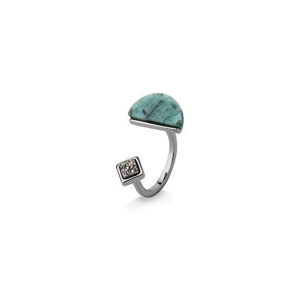 Anel-Legno-Cute-I---Esmeralda-e-Drusa-Metalizada