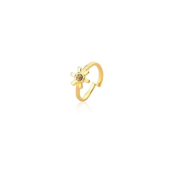 Anel-Sol---Drusa-Metalizada-Dourada