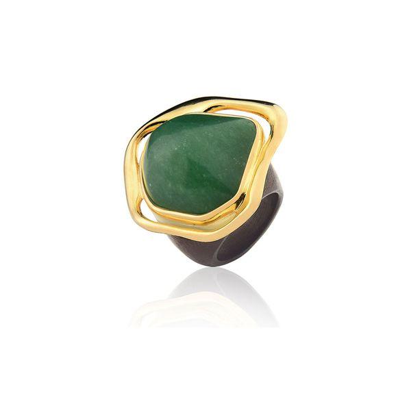 Anel-Minas-Gerais---Quartzo-Verde-e-Madeira