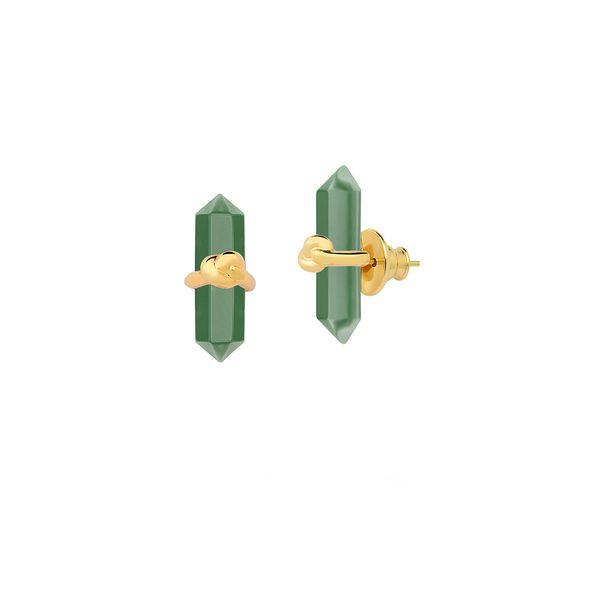Brinco-Knot-Petit---Agata-Verde-