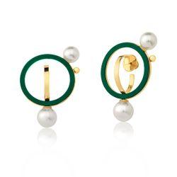 Brinco-Louise---Verde-e-Perola-