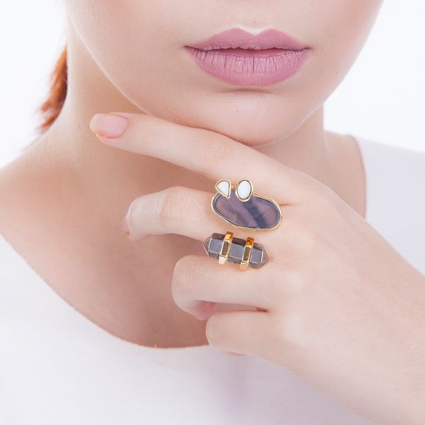 Anel-Nature---Agata-Cinza-Cristal-Metalizado-e-Haulita
