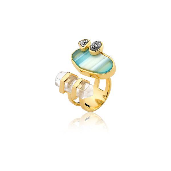 Anel-Nature---Agata-Azul-Cristal-e-Drusa-Metalizada
