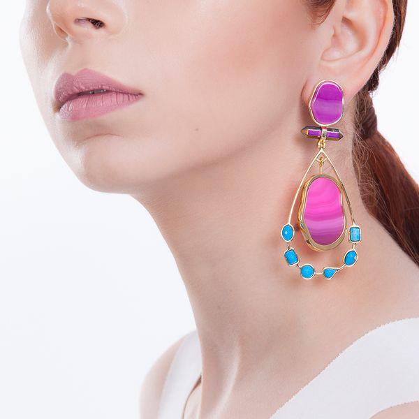 Brinco-Beaute---Agata-Pink-Turquesa-e-Cristal-