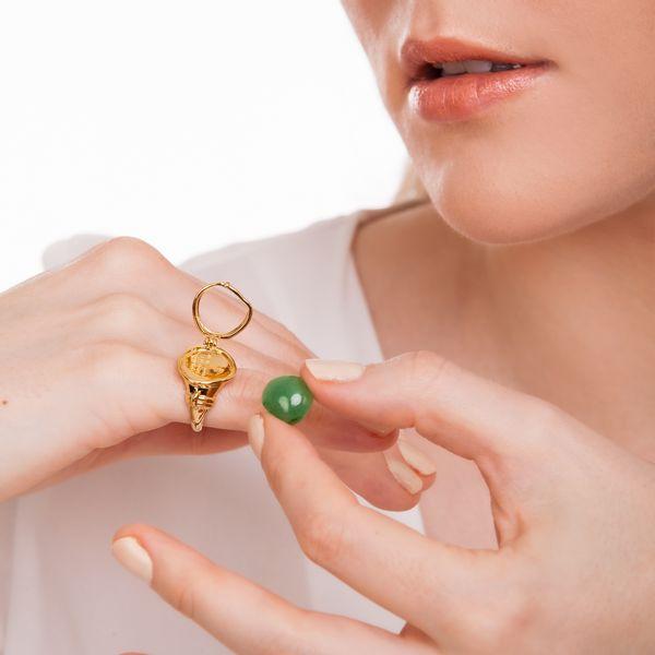 Colar-Relicario-Tesouro---Ametista-Citrino-Quartzo-Rosa-Cristal-e-Agata-Verde