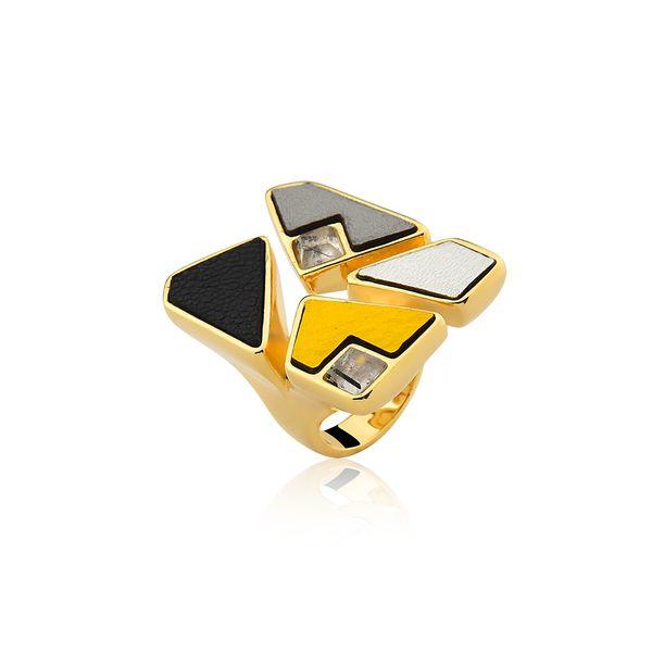 Anel-Mosaico---Cristal-Grafitado-Amarelo-Preto-e-Cinza-