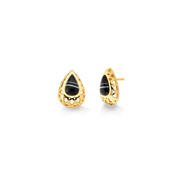 Brinco-Diamante-Gota-3---Agata-Preta---Colecao-Icone