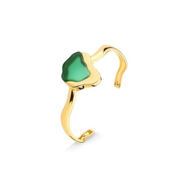 Pulseira-Terre---Agata-Verde---Colecao-Acquarella