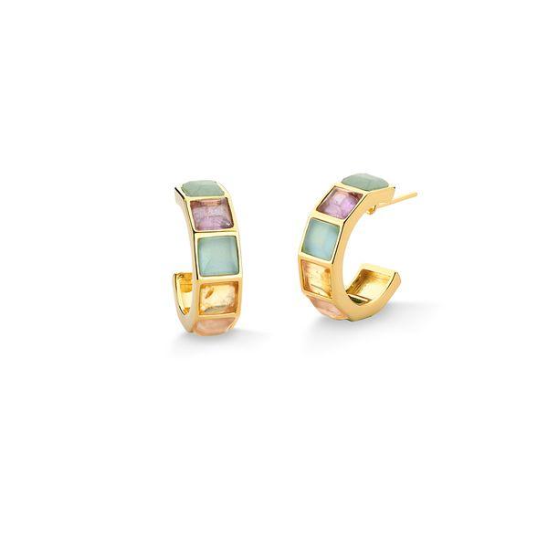 Brinco-Argola-Stone---Agata-Azul-Ametista-Citrino-e-Quartzo-Rosa-e-Verde---Colecao-Icone