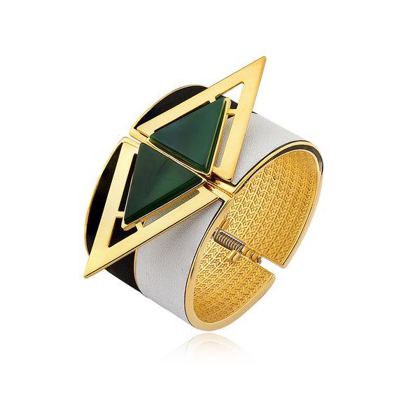 Pulseira-Triangle---Agata-Verde---Colecao-Essential