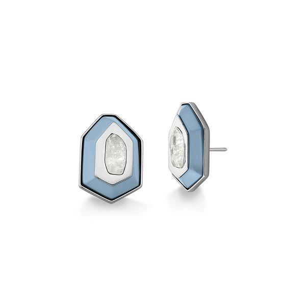 Brinco-Essencia---Cristal-e-Madeira-Azul---Colecao-Existe-em-Mim