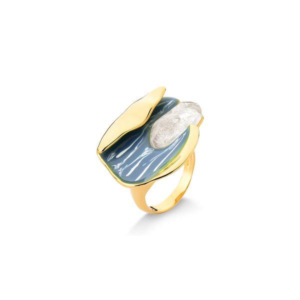 Anel-Emocao---Cristal-e-Esmalte-Azul---Colecao-Existe-em-Mim