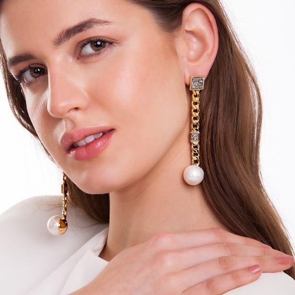 Brinco-Blanc-Elegance---Perola-e-Drusa-Metalizada---Colecao-Blanc