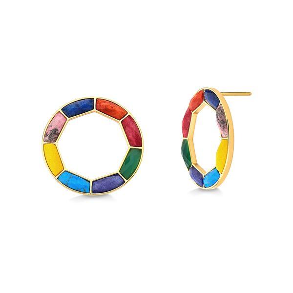 Brinco-Arcus---Quartzo-Azul-Anil-e-Amarelo-Rodocrosita-Haulita-Turquesa-e-Roxa-Agata-Verde-Feldspato-Vermelho-e-Laranja---Colecao-Sublime